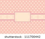 day of  valentine background... | Shutterstock .eps vector #111700442