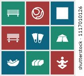 relaxation icon. collection of...   Shutterstock .eps vector #1117010126