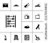 antique icon. collection of 13... | Shutterstock .eps vector #1117014842