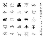 commercial icon. collection of...   Shutterstock .eps vector #1117022132