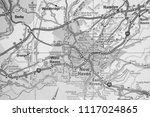 new haven map background | Shutterstock . vector #1117024865