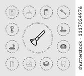 hygiene icon. collection of 13...   Shutterstock .eps vector #1117024976