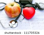 health care and healthy living | Shutterstock . vector #111705326