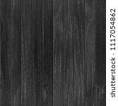seamless black wooden planks...   Shutterstock . vector #1117054862