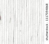 seamless white wooden planks...   Shutterstock . vector #1117054868