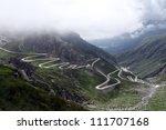St Gotthard Pass - stock photo