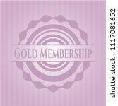 gold membership retro style... | Shutterstock .eps vector #1117081652