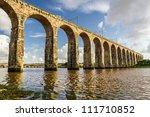 Old Stone Railway Bridge In...