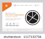 quality one page pie chart...   Shutterstock .eps vector #1117132736