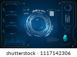 hud interface ui template cyber ...