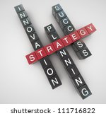 strategy concept | Shutterstock . vector #111716822