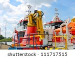 parts and equipment of new... | Shutterstock . vector #111717515