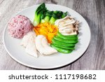 clean food for  health... | Shutterstock . vector #1117198682