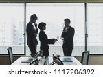 young business persons in the... | Shutterstock . vector #1117206392