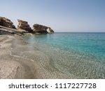 Triopetra Rocks And Blue Water  ...