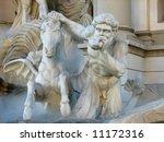 Caesar's Palace Horse Statue...
