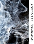 abstract smoke background | Shutterstock . vector #1117233275