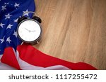 national flag of america and...   Shutterstock . vector #1117255472