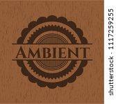 ambient wood emblem | Shutterstock .eps vector #1117259255