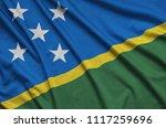 solomon islands flag  is...   Shutterstock . vector #1117259696