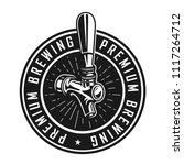 vintage premium brewery label... | Shutterstock .eps vector #1117264712