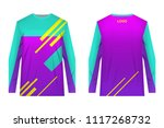 templates jersey for... | Shutterstock .eps vector #1117268732
