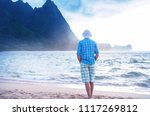 beautiful scene in tunnels... | Shutterstock . vector #1117269812