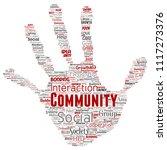 vector conceptual community ...   Shutterstock .eps vector #1117273376