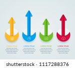 infographics business design...   Shutterstock .eps vector #1117288376
