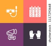 modern  simple vector icon set... | Shutterstock .eps vector #1117293668