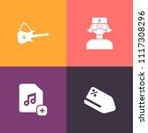 modern  simple vector icon set... | Shutterstock .eps vector #1117308296