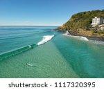 burleigh heads  gold coast ... | Shutterstock . vector #1117320395