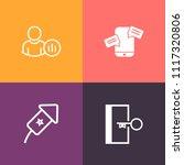 modern  simple vector icon set...   Shutterstock .eps vector #1117320806