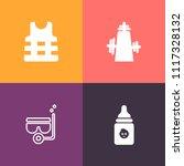 modern  simple vector icon set...   Shutterstock .eps vector #1117328132