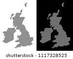 vector rhombus dot great...   Shutterstock .eps vector #1117328525