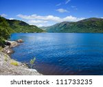 Scotland  Loch Lomond In Summer