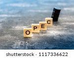 opec organization of the... | Shutterstock . vector #1117336622