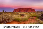 Ayers Rock Red Center Australi...