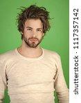 men's underwear. barber and...   Shutterstock . vector #1117357142
