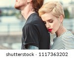 cropped image of stylish... | Shutterstock . vector #1117363202