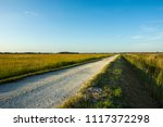 Simple Village Road Through The ...
