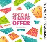 abstract banner design for... | Shutterstock .eps vector #1117407578