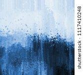 grunge blue abstract texture...   Shutterstock . vector #1117410248