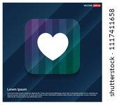 heart icon   free vector icon | Shutterstock .eps vector #1117411658
