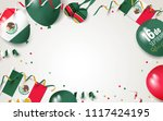 16 september mexico happy... | Shutterstock .eps vector #1117424195