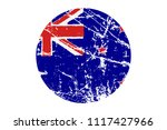 flag of new zealand grunge... | Shutterstock .eps vector #1117427966