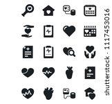 set of vector isolated black... | Shutterstock .eps vector #1117453016