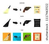 the detective flashlight... | Shutterstock .eps vector #1117463522