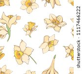vector hand drawn pattern with...   Shutterstock .eps vector #1117466222
