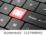 vacation concept  computer... | Shutterstock . vector #1117468442